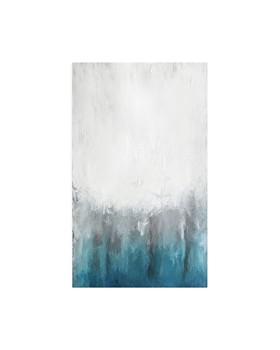 Art Addiction Inc. - Abstract Ice Blue Small Wall Art