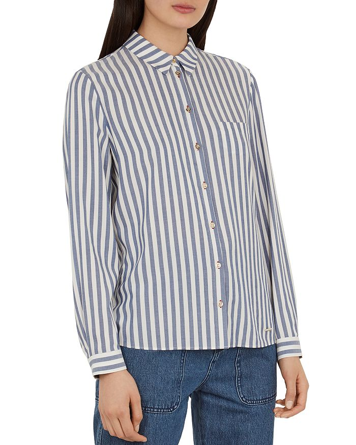 Ted Baker - Colour by Numbers Norona Striped Shirt