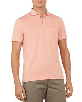 5fedb120 Ted Baker - Frog Flat Knit Polynosic Regular Fit Polo Shirt ...