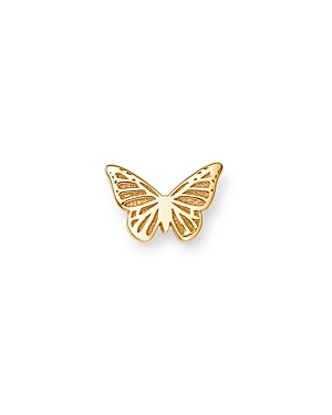 Zoe Chicco 14K Yellow Gold Single Itty Bitty Butterfly Stud Earring-Jewelry & Accessories
