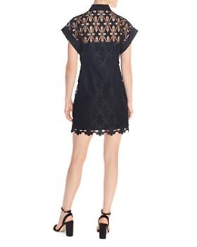 Sandro - Amandine Lace Mini Dress