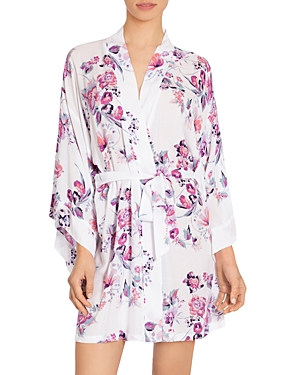 In Bloom By Jonquil Tops IN BLOOM BY JONQUIL FLORAL WRAP KIMONO