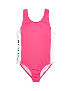 Ralph Lauren - Girls' Logo Swimsuit - Little Kid