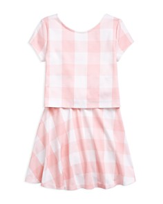 Polo Ralph Lauren - Girls' Gingham Top & Skirt Set - Big Kid