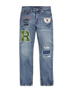 Ralph Lauren - Boys' Sullivan Distressed Slim-Fit Jeans - Big Kid