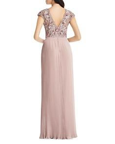 Aidan Mattox - Embellished Pleated Gown