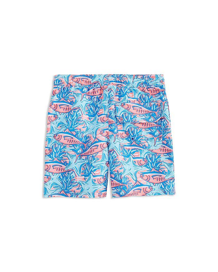 8f86c750a1 Vineyard Vines - Boys' Tuna & Starfish Chappy Swim Trunks - Little Kid, Big