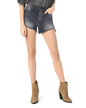 Joe's Jeans - High-Rise Smith Denim Shorts in Roya