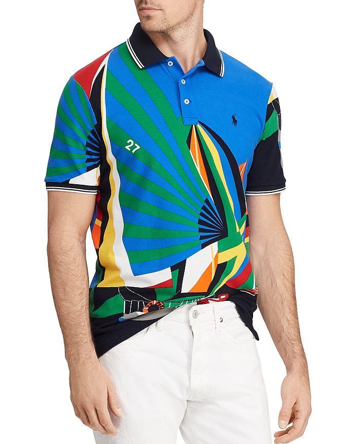 0d93694a Polo Ralph Lauren Newport Sailboat Classic Fit Mesh Polo Shirt ...
