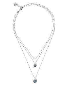 """Uno de 50 - Stars Rain Multi Row Pendant Necklace, 12""""-16"""""""