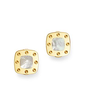 Roberto Coin - 18K Yellow Gold Pois Moi Mother-of-Pearl Clip-On Earrings