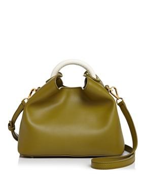 Elleme - Color-Block Leather Satchel