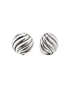 David Yurman - Sterling Silver Cable Stud Earrings