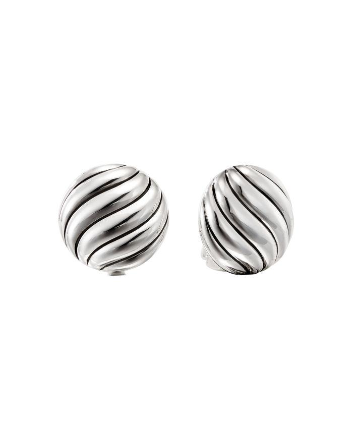 David Yurman Cable Stud Earrings    Bloomingdale's