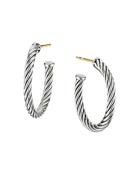 David Yurman - Small Cable Hoop Earrings