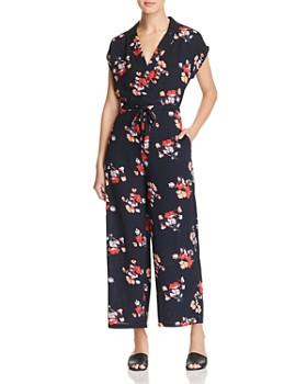 Vero Moda - Kaya Floral-Print Jumpsuit