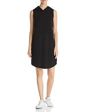 B Collection By Bobeau Dresses B COLLECTION BY BOBEAU SLEEVELESS HOODIE DRESS
