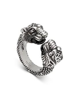 5ee005d405d9 Gucci - Sterling Silver Vintage Tiger Ring