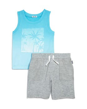 Splendid - Boys' Dip-Dye Tank & Shorts Set - Little Kid