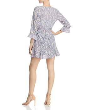 The Fifth Label - Tour Floral Wrap Mini Dress