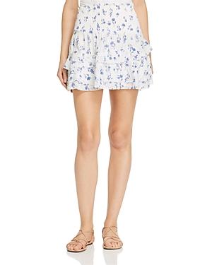 Parker Valentina Floral Mini Skirt
