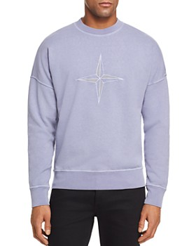 f8938bd675d1 Stone Island - Logo-Embroidered Garment-Dyed Sweatshirt ...