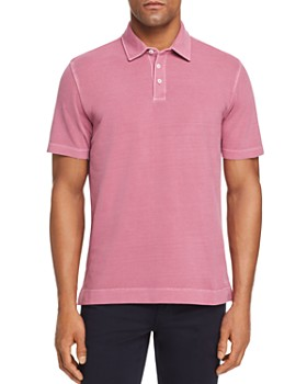 Z Zegna - Garment Dyed Short-Sleeve Regular Fit Polo Shirt
