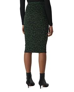 Whistles - Leopard Jacquard Tube Skirt