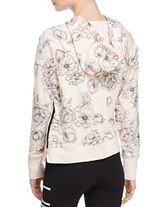 Calvin Klein - Floral French Terry Hooded Sweatshirt
