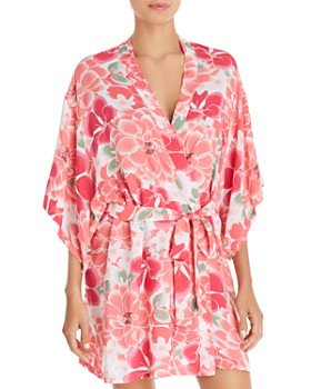Josie - Abstract Suzani Wrap Robe - 100% Exclusive