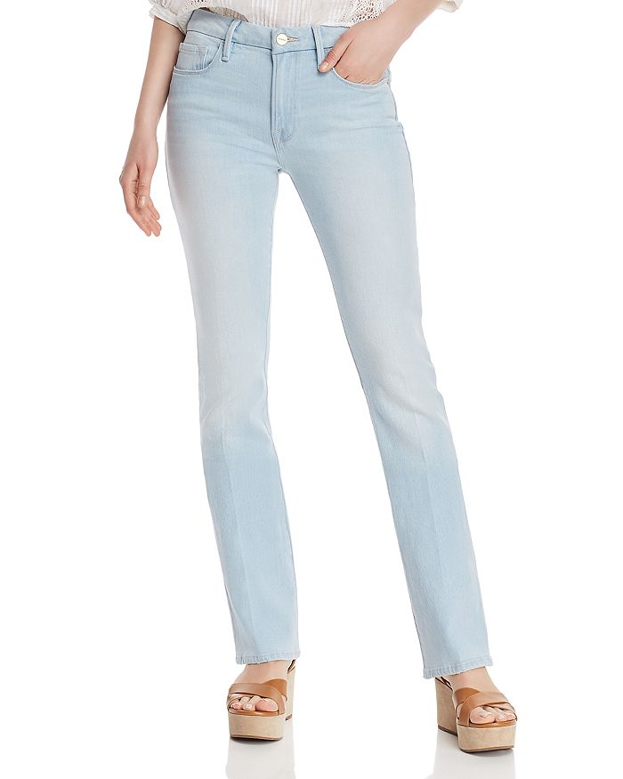 a2bdd77c FRAME Le Mini Boot Jeans in Ferry | Bloomingdale's
