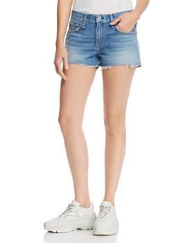 rag & bone - Cate Mid-Rise Denim Shorts in Brandon