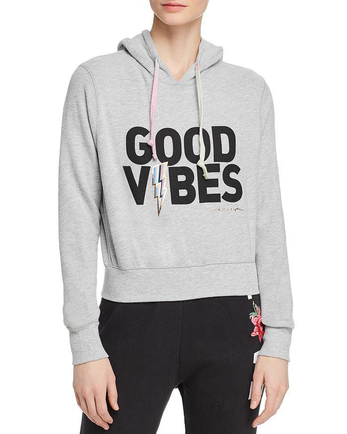 Spiritual Gangster - Good Vibes Cropped Hooded Sweatshirt
