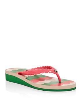 kate spade new york - Women's Mare Wedge Flip-Flops