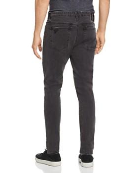Zee Gee Why Denim - Pipes Skinny Fit Jeans in Black Radler