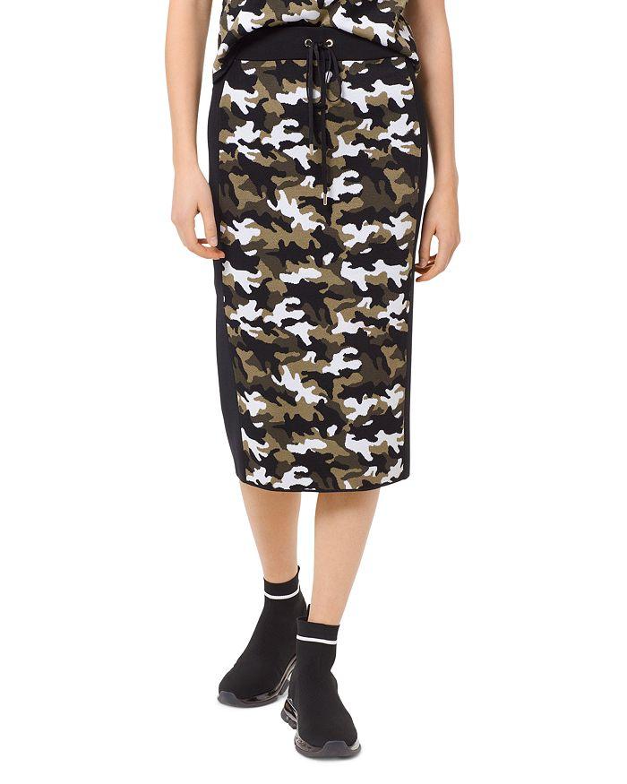 MICHAEL Michael Kors - Camo Pencil Skirt