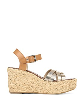 Sam Edelman - Women's Darline Espadrille Wedge Heel Platform Sandals