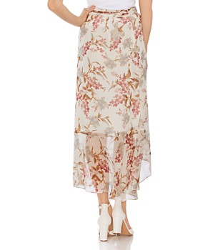 VINCE CAMUTO - Wildflower Wrap Maxi Skirt