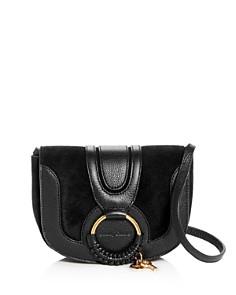 See by Chloé - Hana Mini Suede & Leather Crossbody