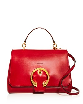 Jimmy Choo - Madeline Large Leather Shoulder Bag