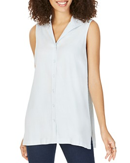 Foxcroft - Arquette Sleeveless Tunic Shirt