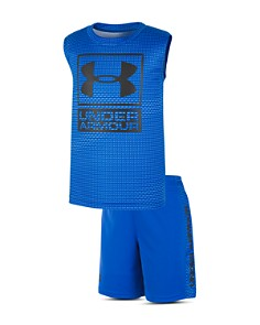 Under Armour - Boys' Sync Logo Tech Tank & Shorts Set - Little Kid