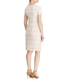 Ralph Lauren - Striped Lace Dress