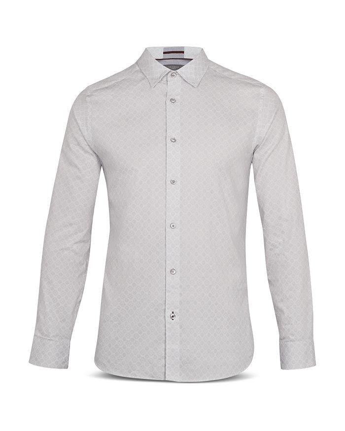 Ted Baker - Nalar Geo Print Phormal Slim Fit Shirt