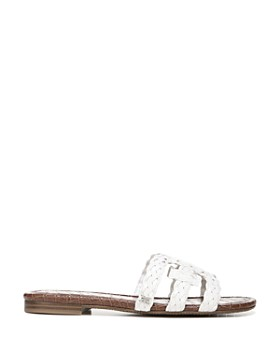 Sam Edelman - Women's Beckie Woven Slide Sandals
