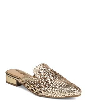 Sam Edelman - Women's Clara Woven Leather Mules