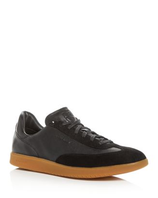 Men's Grand Pro Turf Leather Low Top Sneakers by Cole Haan
