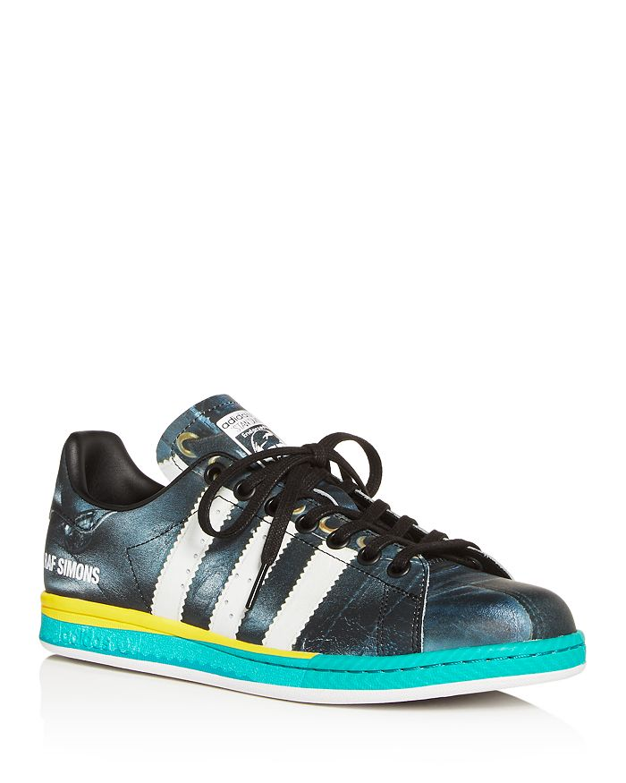 timeless design 13f2b e62fc Raf Simons for Adidas - Unisex RS Samba Stan Leather Low-Top Sneakers