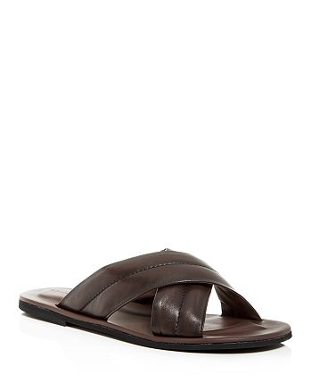 To Boot New York - Men's Amico Nappa Leather Slide Sandals
