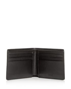 BOSS Hugo Boss - Printed Leather Bi-Fold Wallet